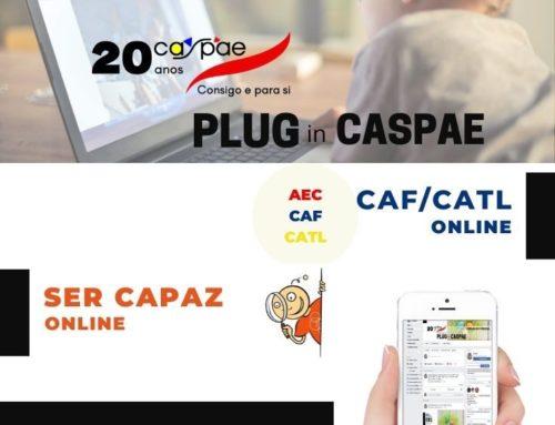 Plano Semanal de Atividades PLUG in CASPAE
