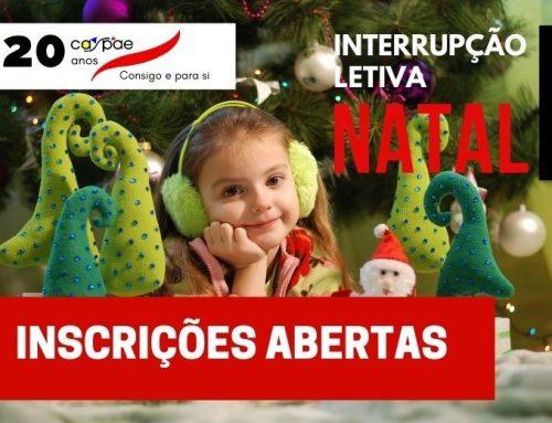 Interrupção Letiva de Natal