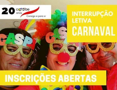 Interrupção Letiva de Carnaval